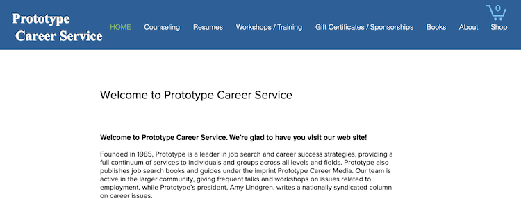 Prototype Career Service - Best Minneapolis Resume Service