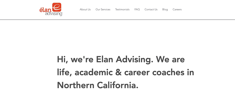 Elan Advising - Best Sacramento Resume Service