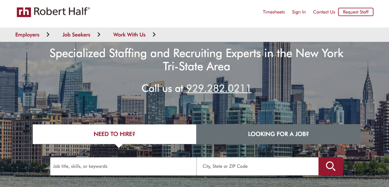 10 Best Staffing Agencies in NYC [Updated 2020]