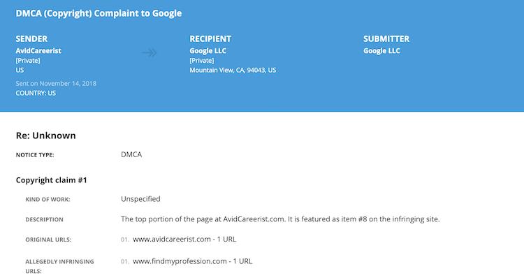 Donna Svei - Lumen DMCA Complaint 4