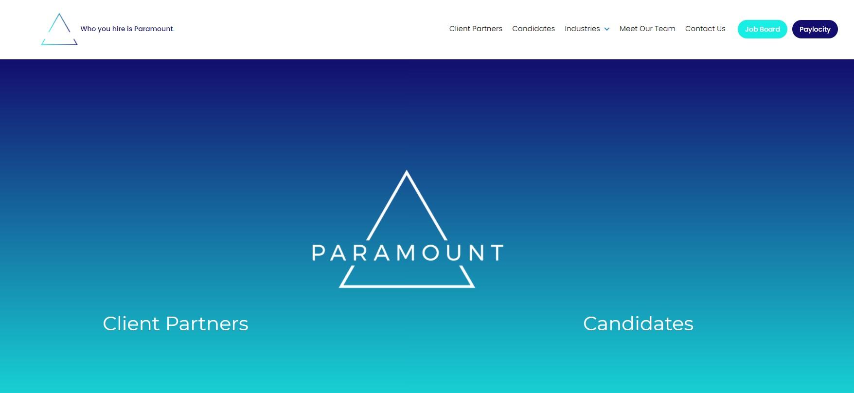 Paramount - Best Atlanta Staffing Agencies
