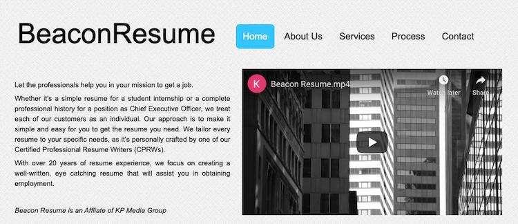 Beacon Resume - Best Boston Resume Service