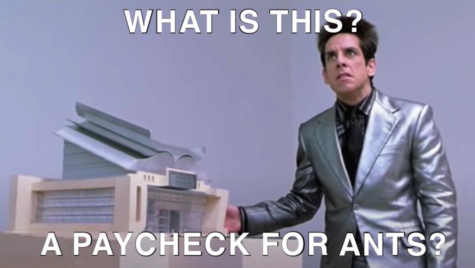Underpaid Meme
