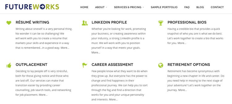FutureWorks - Executive Resume Service Canada