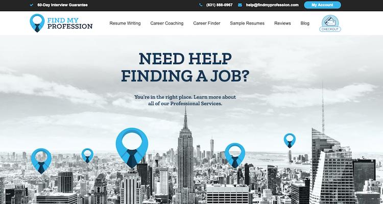 Find My Profession - Best Washington DC Resume Services