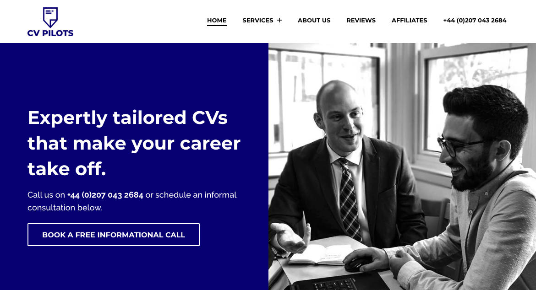 CV Pilots - CV Writing Services UK