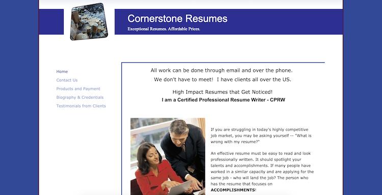 Cornerstone Resumes