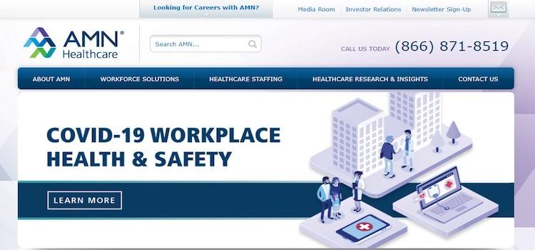 AMN Healthcare - Best Medical Staffing Agencies