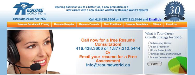 Resume World Inc. - Best Canada Resume Services