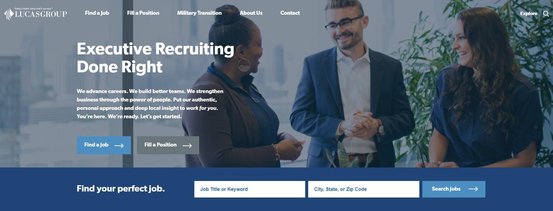Lucas Group - Best Atlanta Staffing Agencies