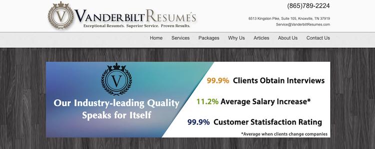 Vanderbilt Resumes - Best Nashville Resume Service