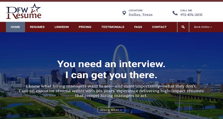 DFW Resume - Best Fort Worth Resume Service