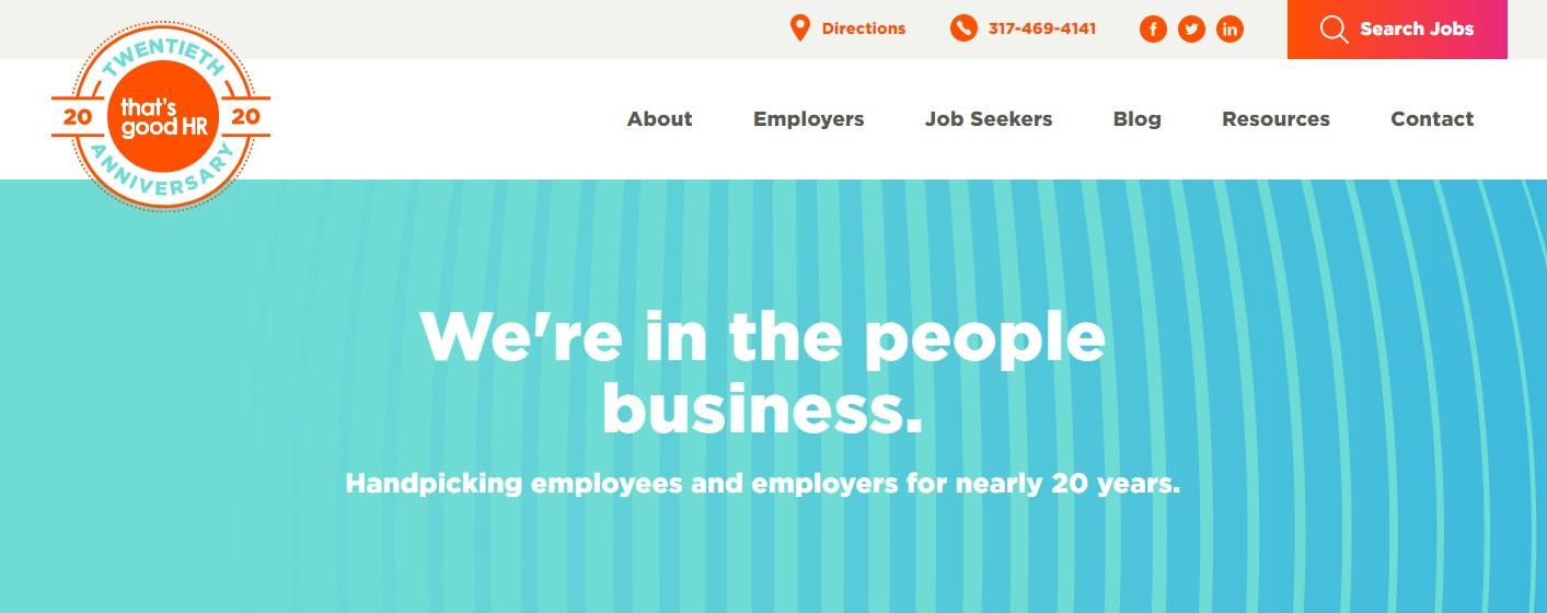 That's Good HR - Best Indianapolis Staffing Agency