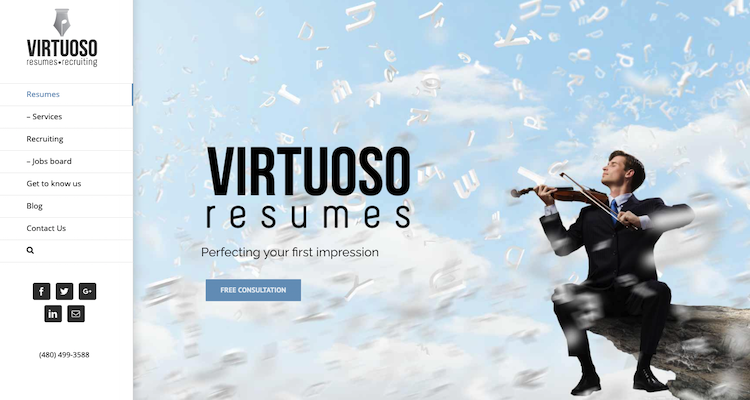 Virtuoso Resumes - Best Legal/Attorney Resume Service