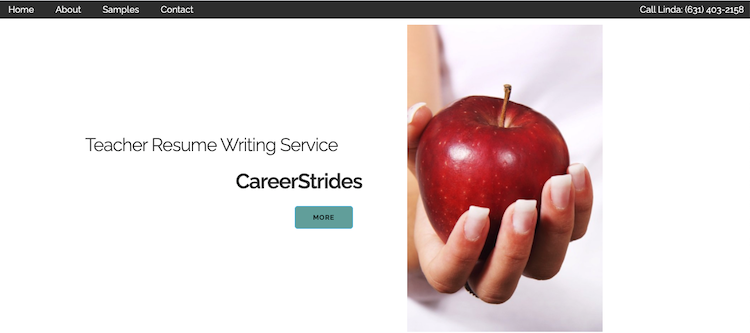 CareerStrides - Best Teacher Resume Service