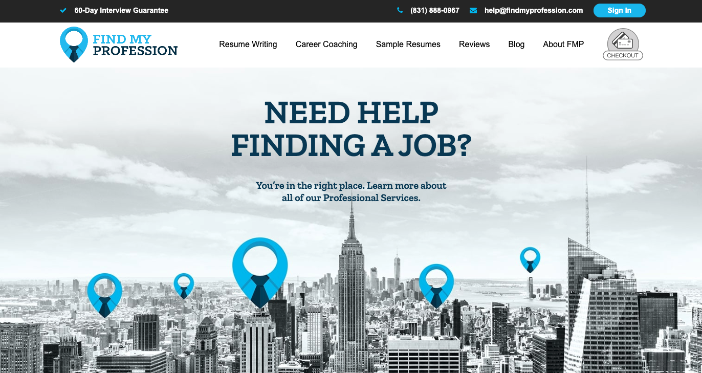 Find My Profession - CV Writing Services UK