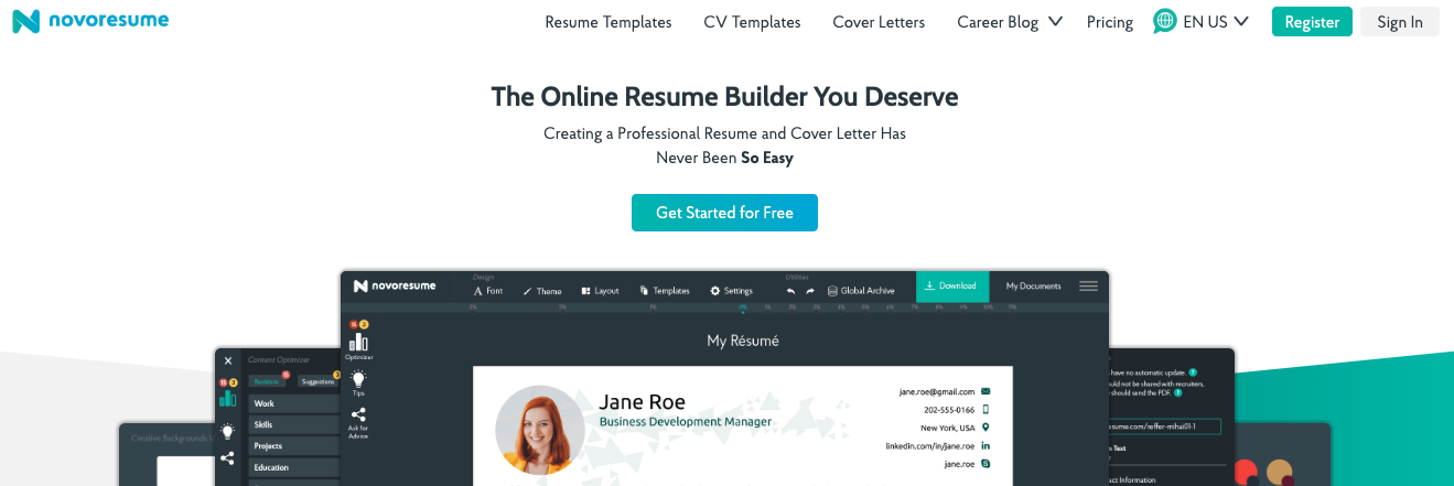 11 Best Online Resume Builders in 2021 [with 6 Free Options]