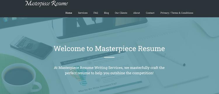 Masterpiece Resume - Best San Diego Resume Service