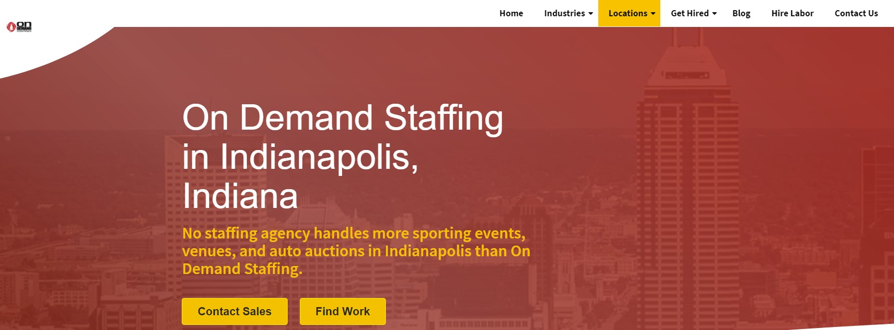 On Demand Staffing - Best Indianapolis Staffing Agency