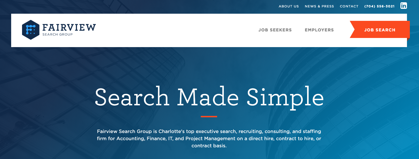 Fairview Search Group - Best Charlotte Staffing Agencies