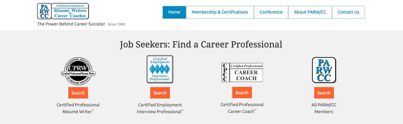 Professional Association of Resume Writers (PARWCC)