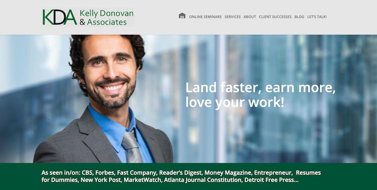 Kelly Donovan & Associates - Best CEO Resume Service