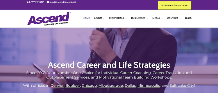 Ascend Career and Life Strategies - Best Minneapolis Resume Service