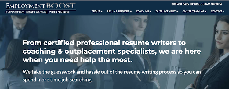 Employment Boost - Best Detroit Resume Service