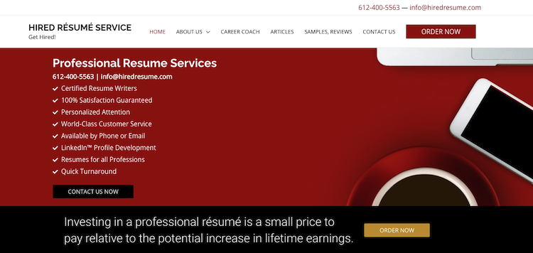 Hired Resume Service - Best Minneapolis Resume Service