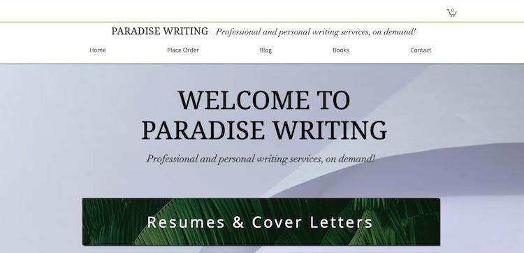 Paradise Writing - Best Salt Lake City Resume Service