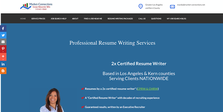 Market-Connections - Best Los Angeles Resume Service