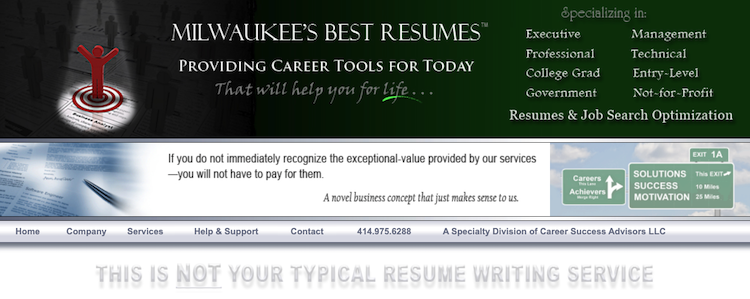 Milwaukee's Best Resumes - Best Milwaukee Resume Services
