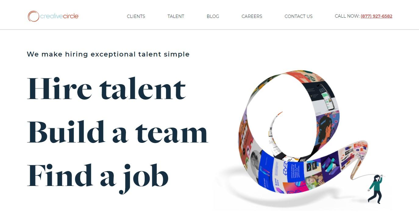 Creative Circle - Best San Diego Staffing Agency