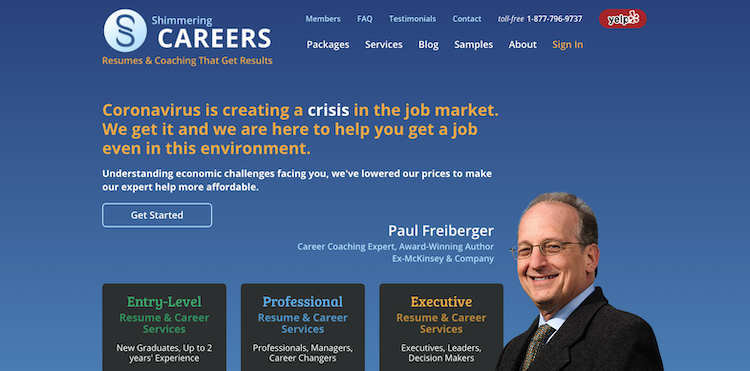 Shimmering Careers - Best Project Manager Resume Service