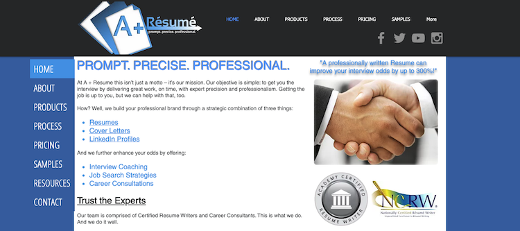 A + Resume - Best Milwaukee Resume Services