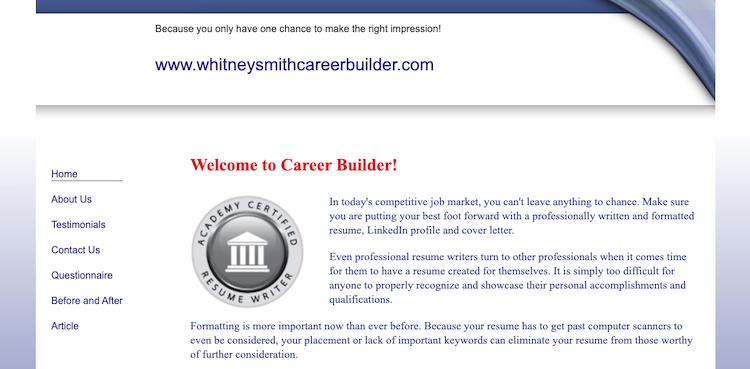 Whitney Smith & Associates - Best Philadelphia Resume Service