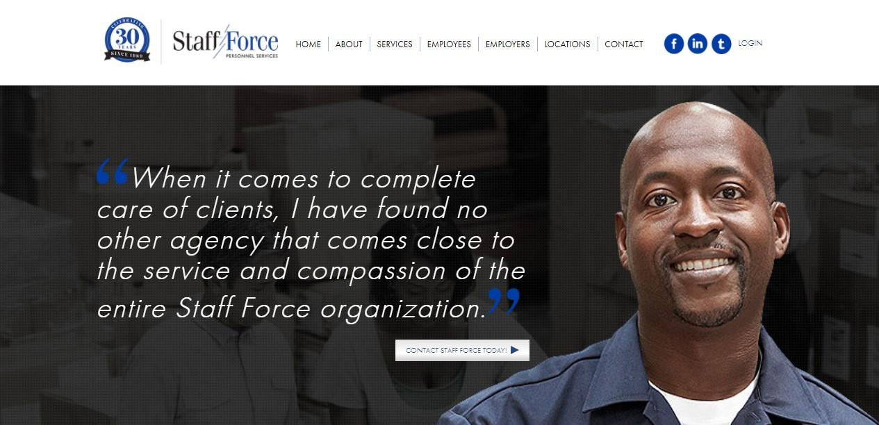Staff Force - Best Dallas Staffing Agencies