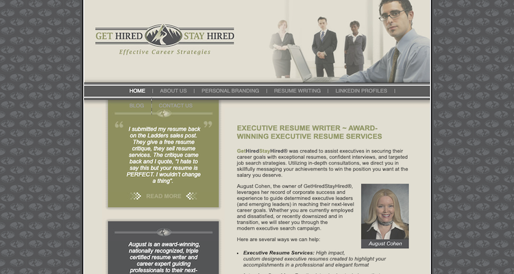 Get Hired Stay Hired - Best Nashville Resume Service