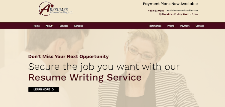 A+ Resumes & Career Coaching - Best Phoenix Resume Service