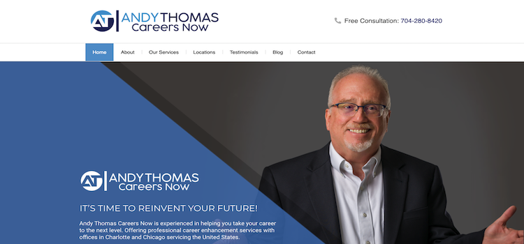 Andy Thomas Career Now - Best Charlotte Career Coach