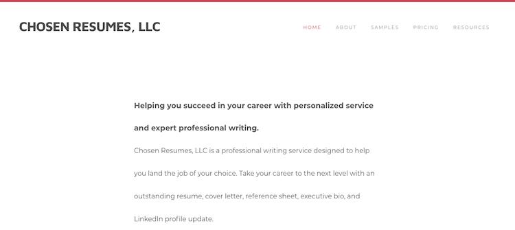 Chosen Resumes - Best Grand Rapids Resume Service