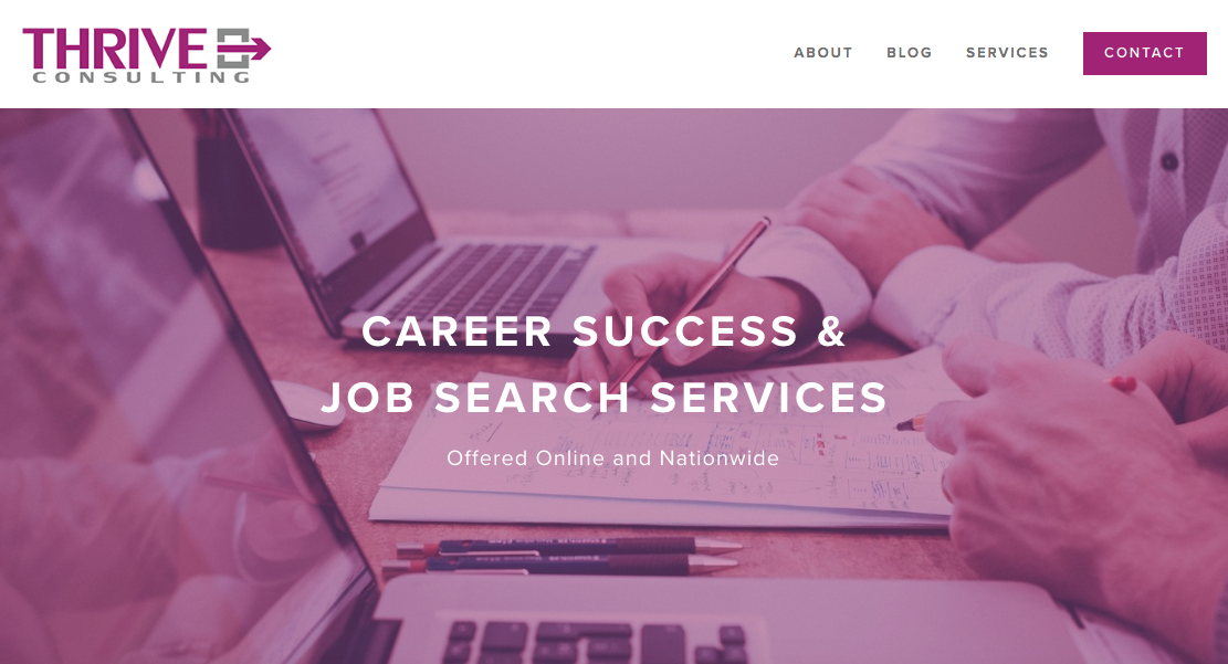 Thrive Consulting - Cover Letter Writing Service