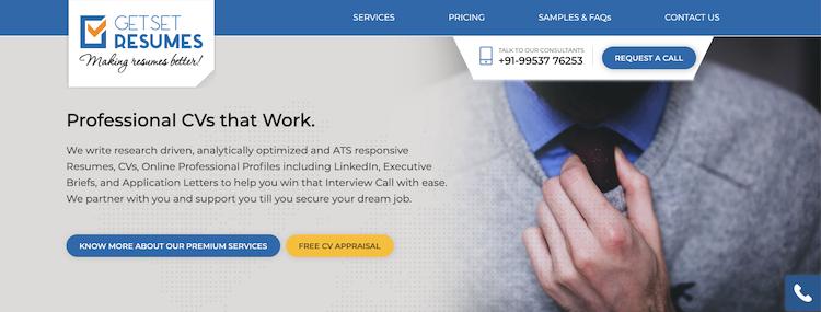 Get Set Resumes - Best India Resume Service