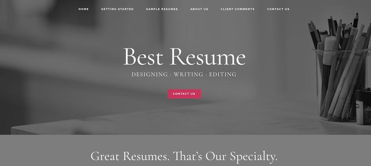 Best Resume - Best Milwaukee Resume Services