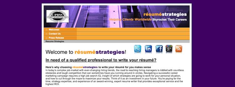 Resume Strategies - Best El Paso Resume Service