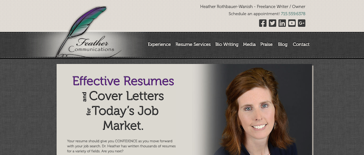 Feather Communications - Best Minneapolis Resume Service