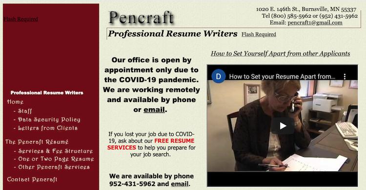 Pencraft - Best Minneapolis Resume Service