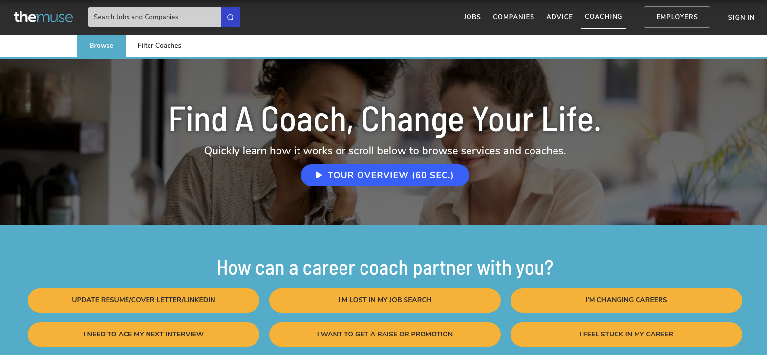 The Muse - Best Career Coach
