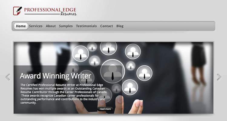 Professional Edge Resumes - Best Calgary Resume Service