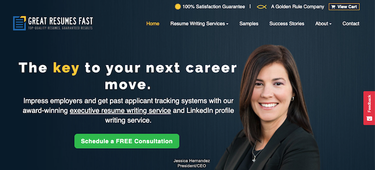 Great Resumes Fast - Best Fast Turnaround Resume Service
